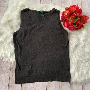 Ralph Laurent Sz.S T-Shirt Sleeveless Crew Neck